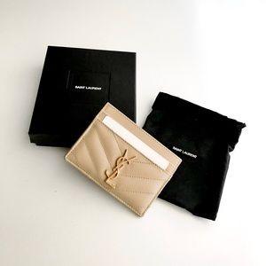Authentic Yves Saint Laurent Card Holder